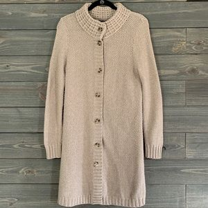 Banana Republic Italian Yarn Cardigan Sweater